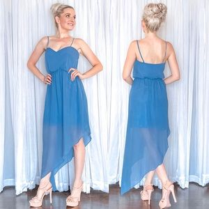 Asymmetrical Bridesmaid Dress - Once Upon A Time